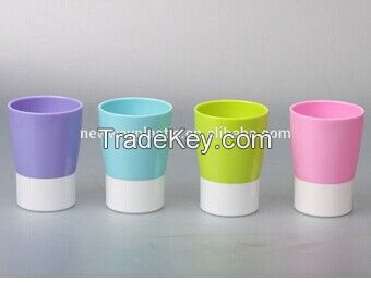 BPA disposable plastic cup with lid
