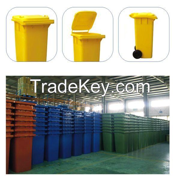 Seven colours design plastic household Waste Bin