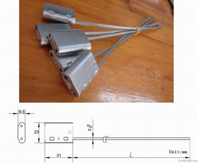 High Security Cable Locks-Zinc Body (SY-035)