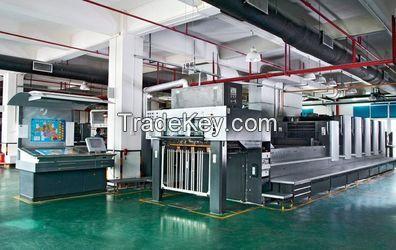 Hard Cover Game Manul Book Printing