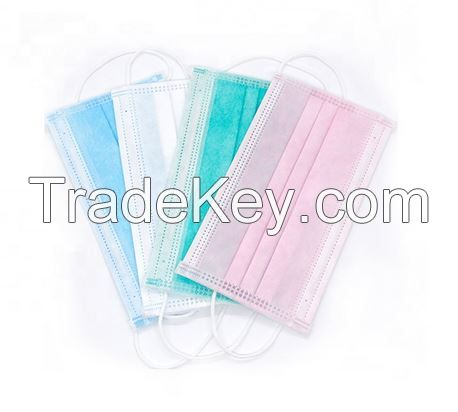 Disposable 3 Ply Surgical CE Certified face mask