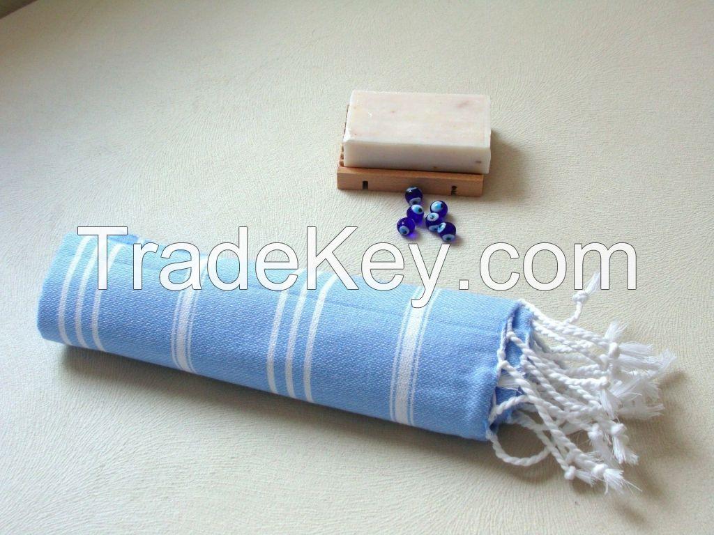 100%Cotton Turkish Peshtemal Towel,Sauna Towel, Beach Towel
