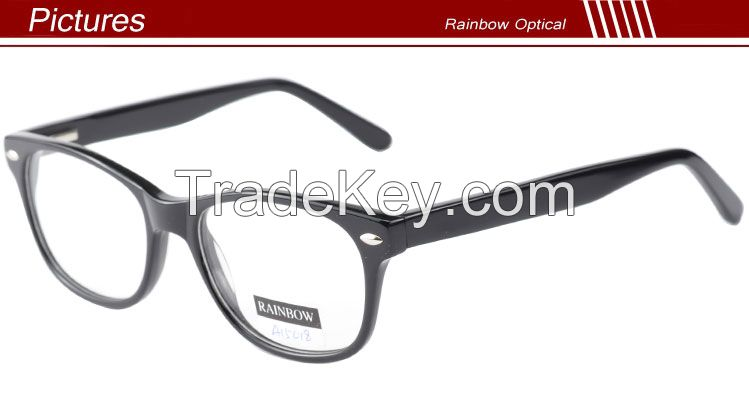 China wholesale acetate eyeglasses frames with new style