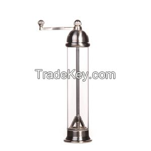 8.5 inches Stainless steel Salt and Pepper grinder/Mill