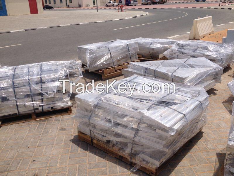 Aluminium 7000 series pucks/briquettes