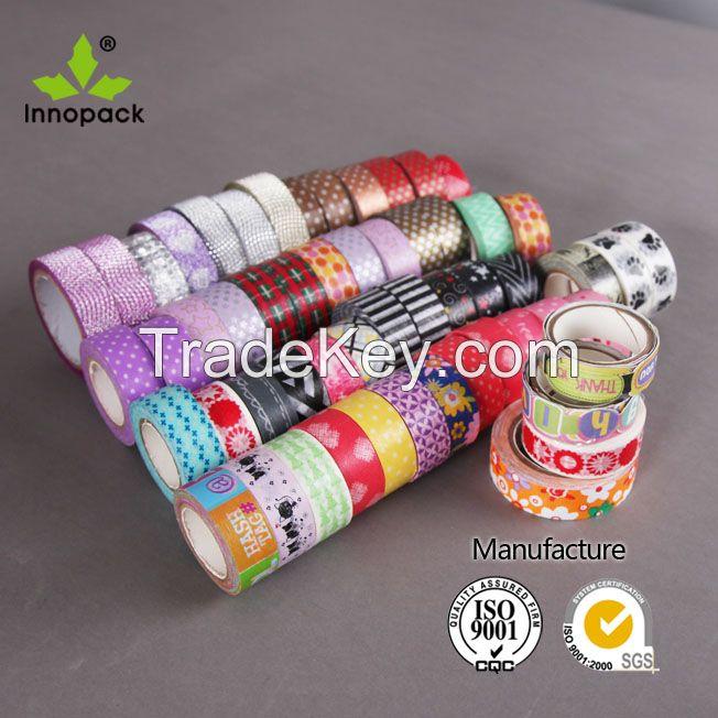 custom printed washi tape, custom make washi tape, custom washi tape