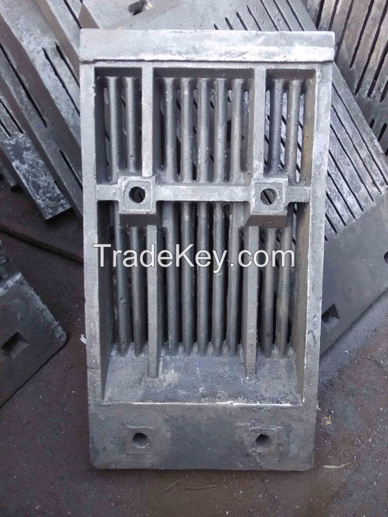 Heat resistant casting for cement industry