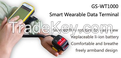 GS-WT1000 Smart Wearable Barcode Scanner Data Terminal