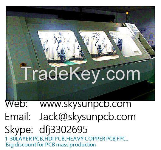 double side copper double-side pcb/multilayer pcb/rigid /single/pcb do