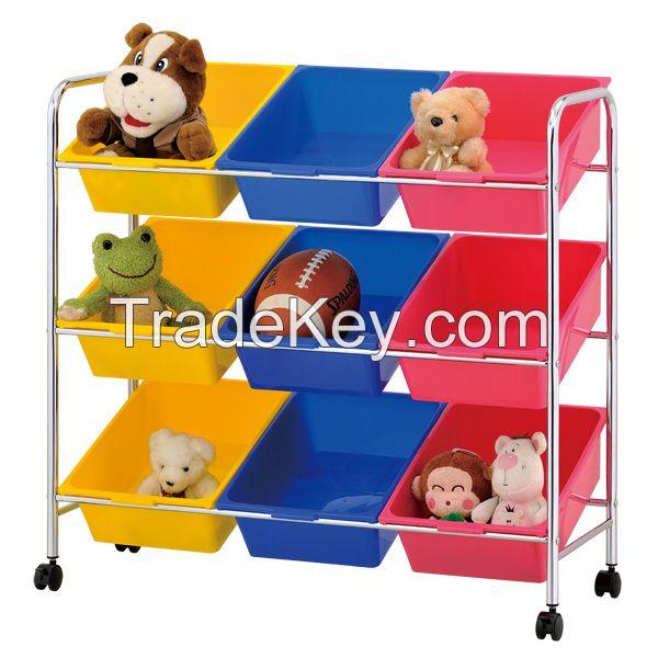 3 Ttier Toys Storage Box