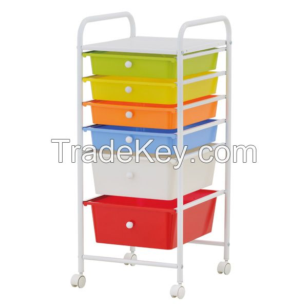 5 Tier Storage Drawer Trolley