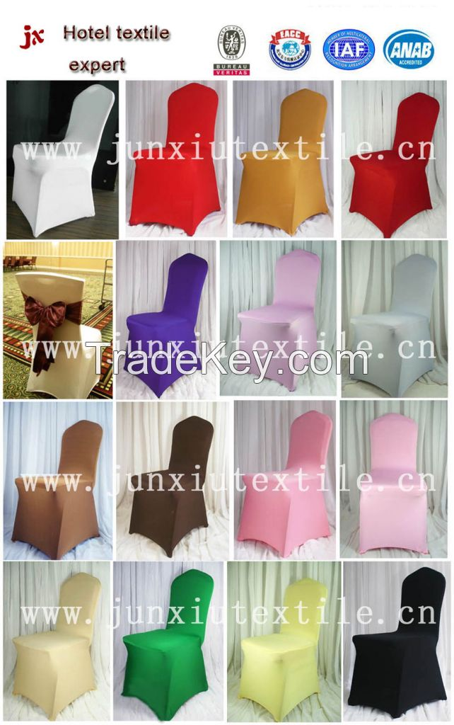spandex chair cover with high quality lycra fabric