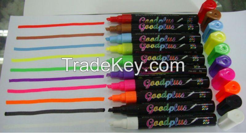 Multi-colour board fluorescent marker liquid chalk