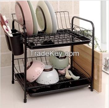 black dish drying rack