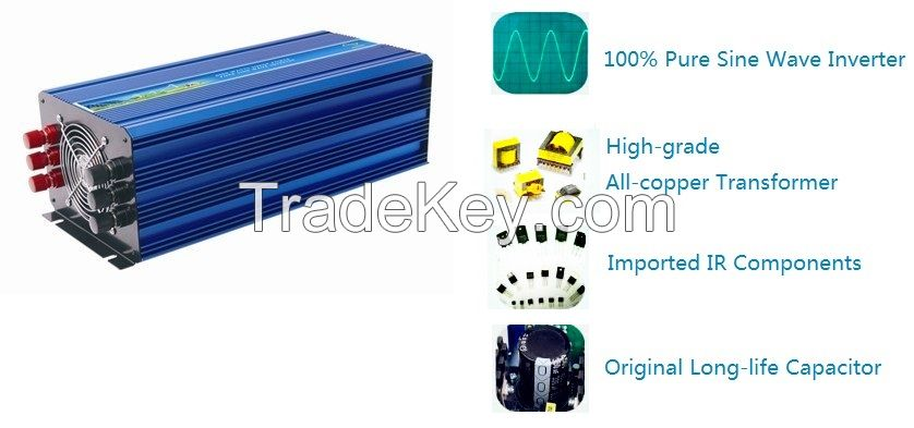 DC-AC 150W-6000W Pure Sine Wave Inverter (off-grid)
