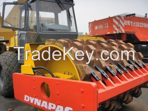 Used Road Roller Dynapac CA30D CA25D ROLLER,Bomag 219D, Ingersoll rand SD100D SD150D Roller