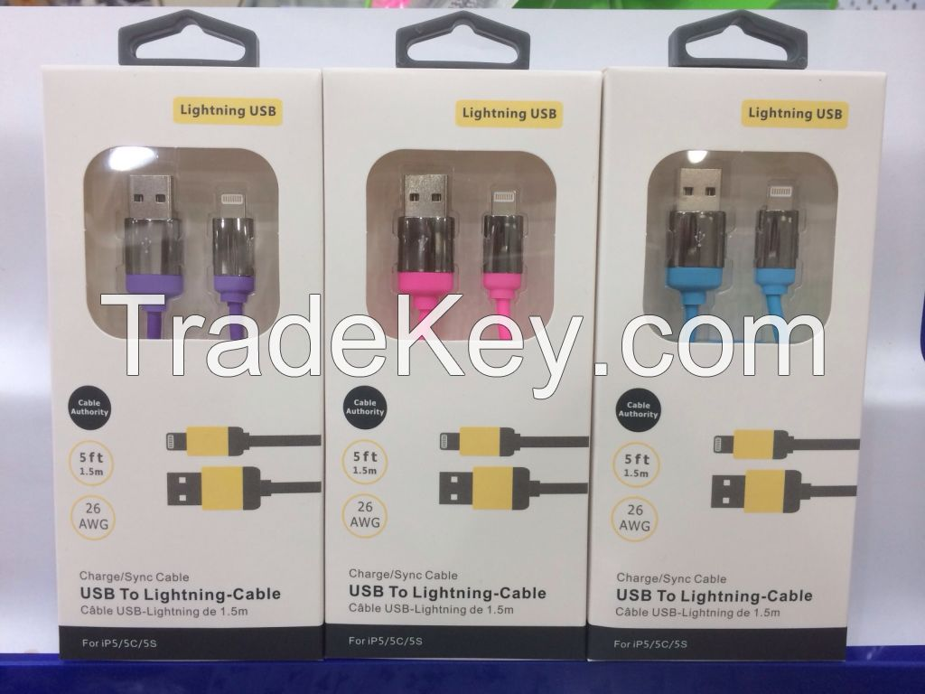 Mobile phone quick charging line