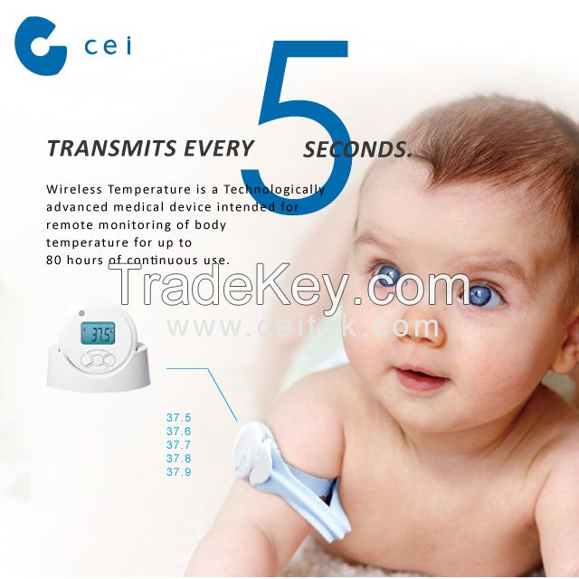 Baby Safety Product Baby Care Set  Wireless Baby Monitor Arm  433mhz Wireless Thermometer Babycare Products