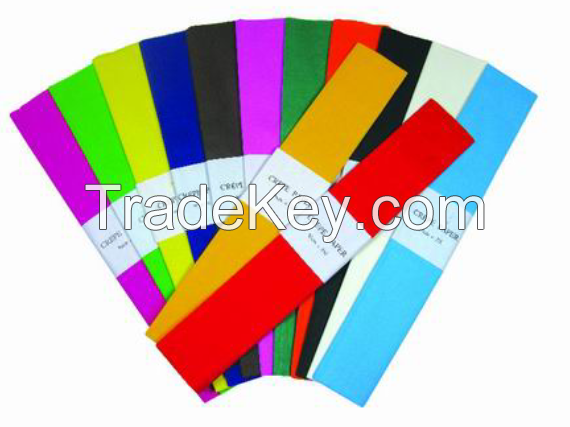 hand craft crepe paper 50x200cm many colors and design