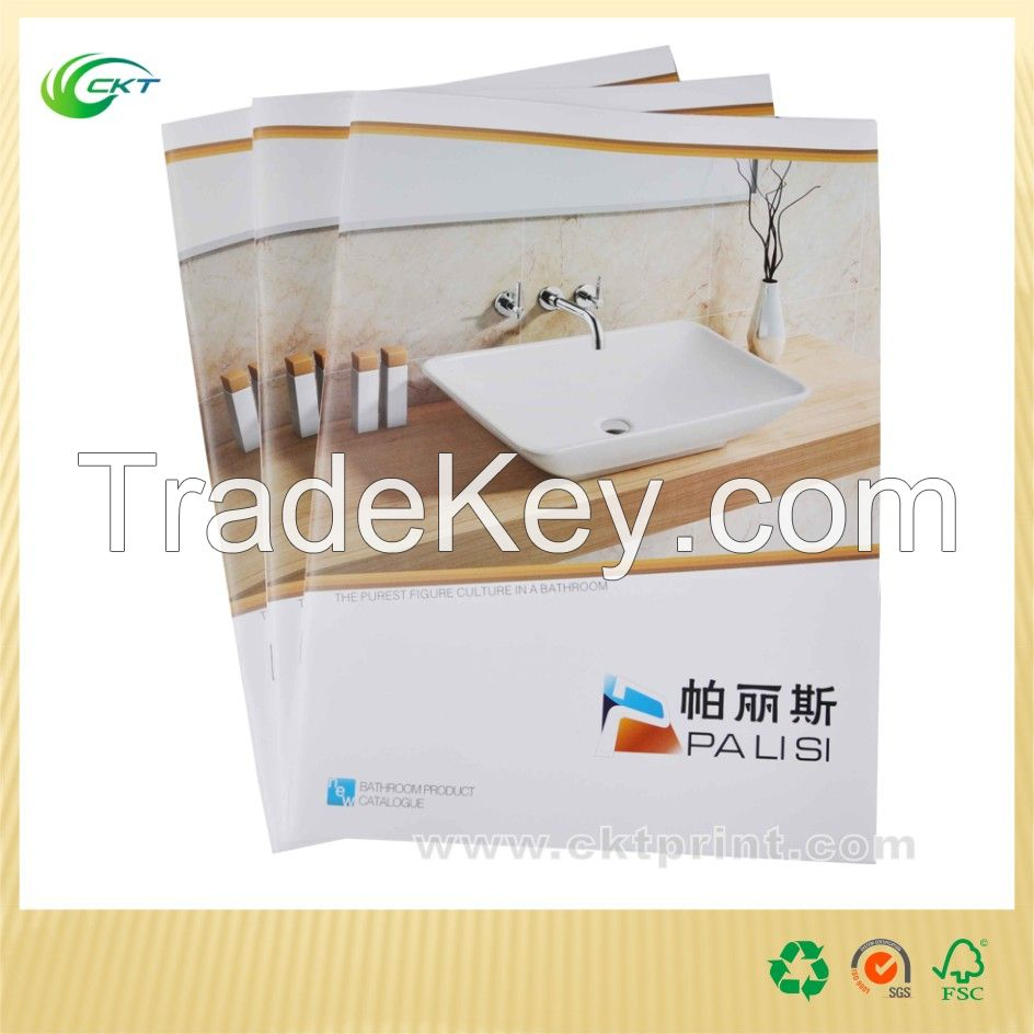 Professional Colorful Catalogue Printing(CKT-CP-009)