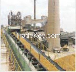rubber conveyor belt and v-belt