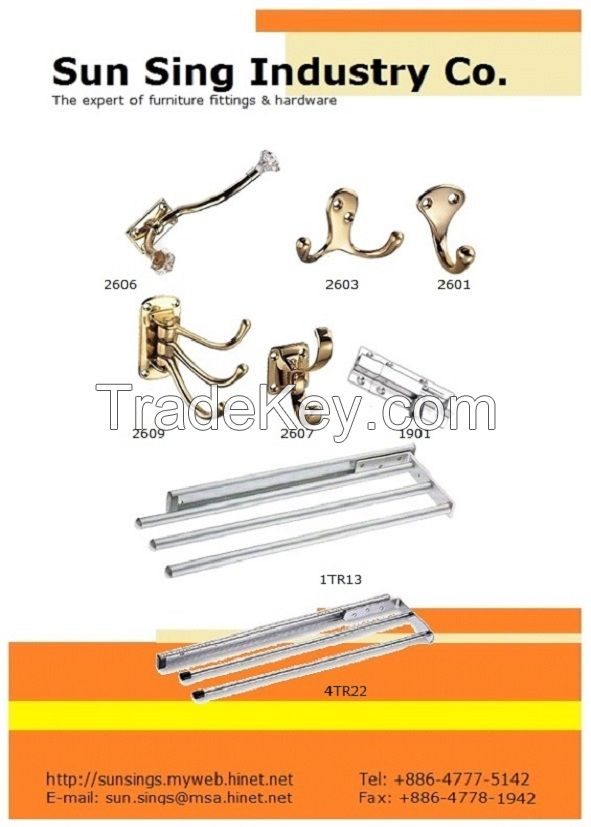 Telescopic Towel Rails