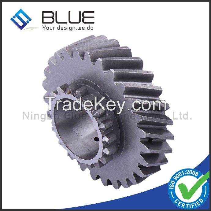 High performance flange gear with Hardness HRC58~72