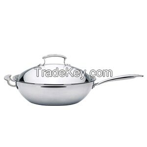 3 layers stainless steel flat pan