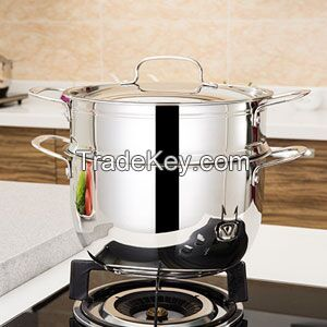 3 layers stainless steel bottom electric sreamer