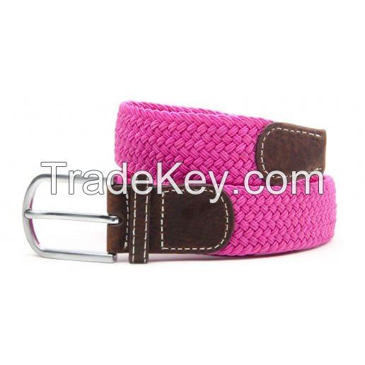 Fashion Womens Elastic Webbing Belt