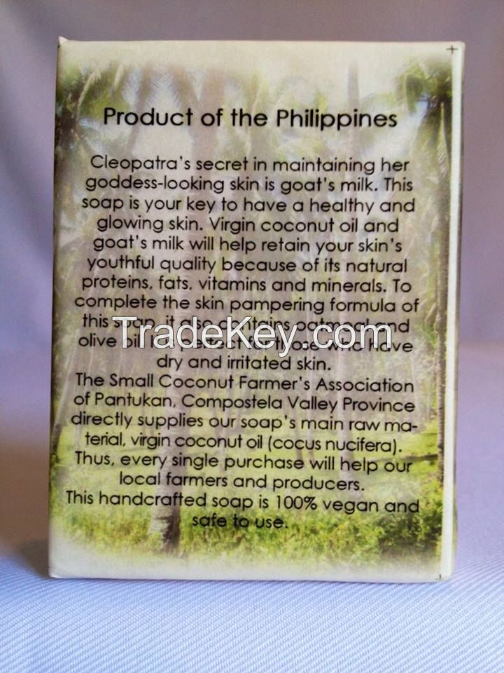 Goat milk  soap WITH OATMEAL AND TEA TREE OIL