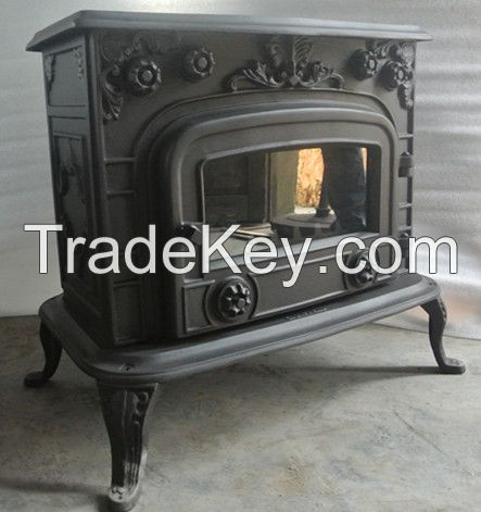 Classic Mental Wood Stove made for home