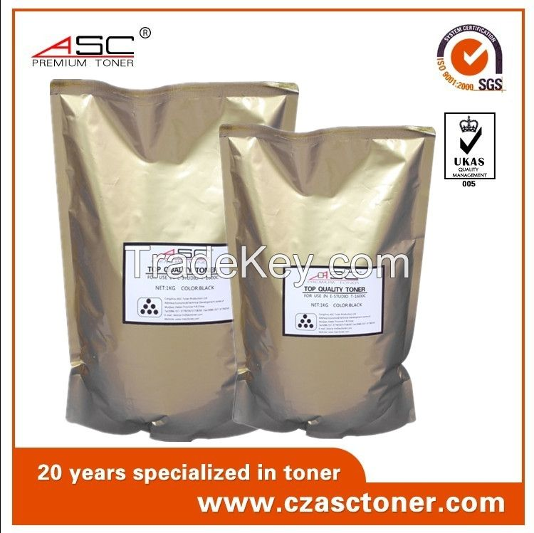 factory ASC black bottle toner powder with high quality for samsung