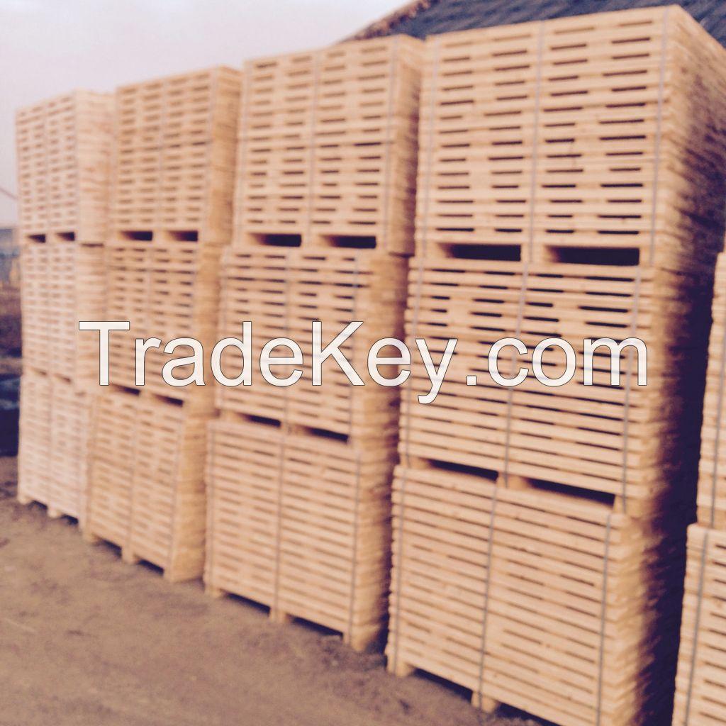 harvesting pallet wood