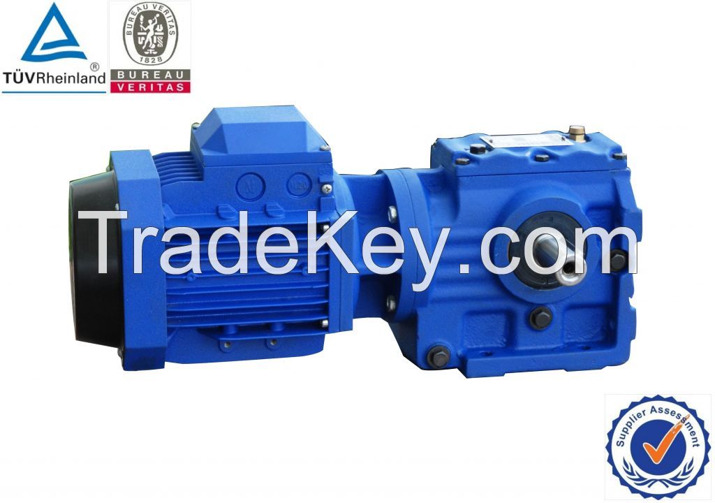 SLS Helical-worm gearbox