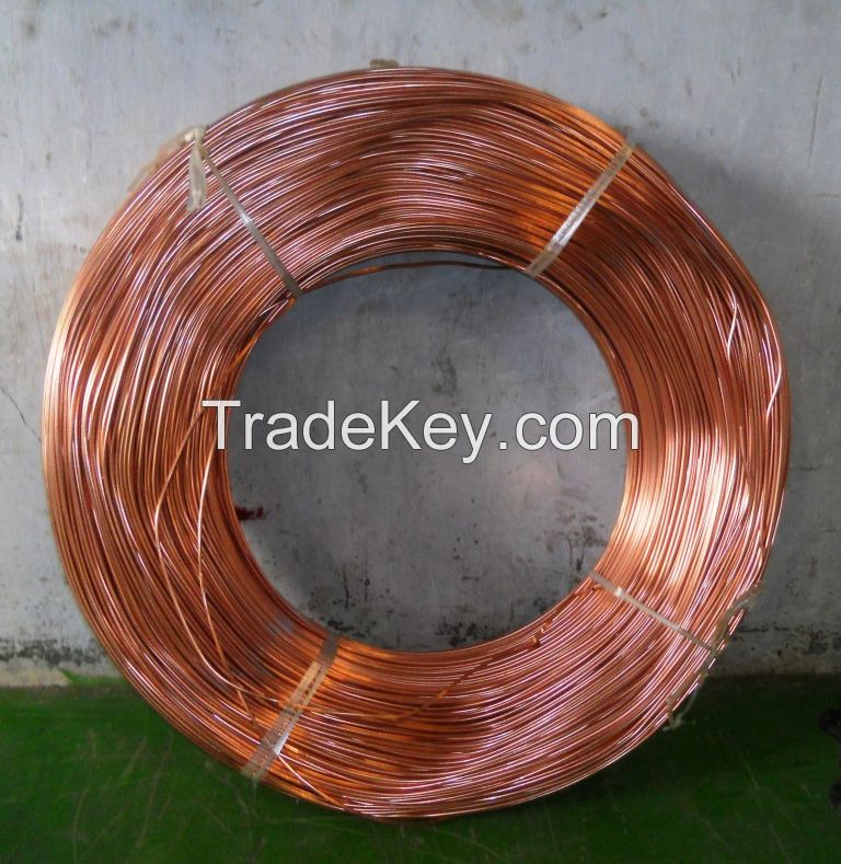 Copper Coated Steel Tube