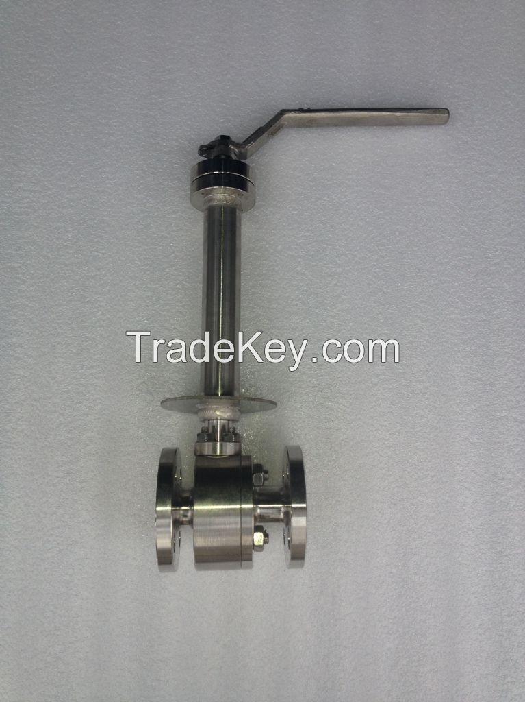 Low Temperature Middle Pressure Stainless Steel Ball Valve