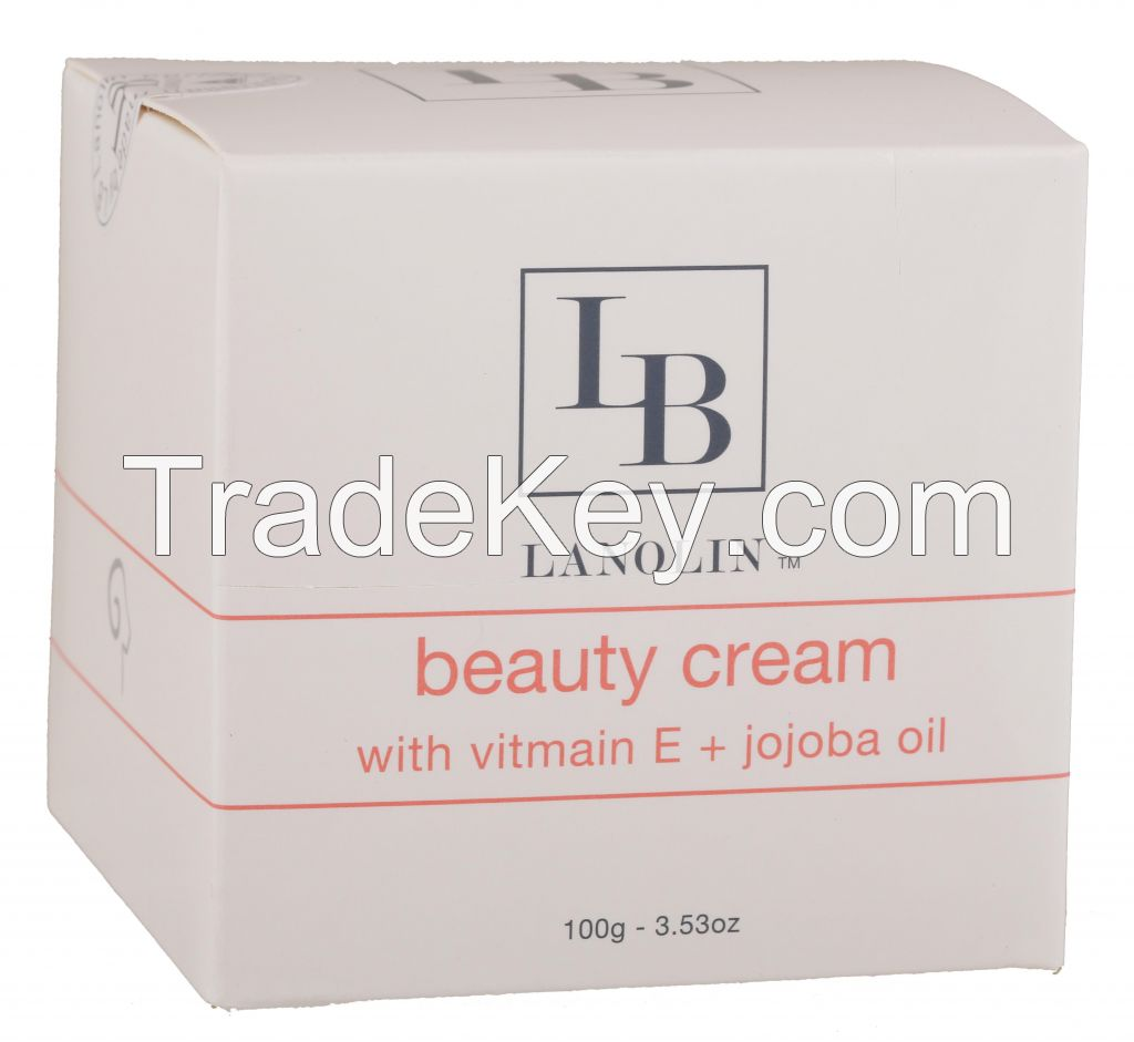 LB Lanolin Cream with Vitamin E + Jojoba Oil