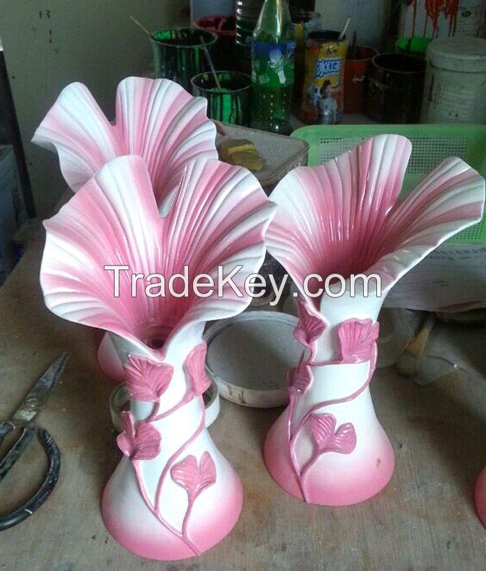 Erainlife beautiful ERRE005 Ployresin  Flower Vase home decoration