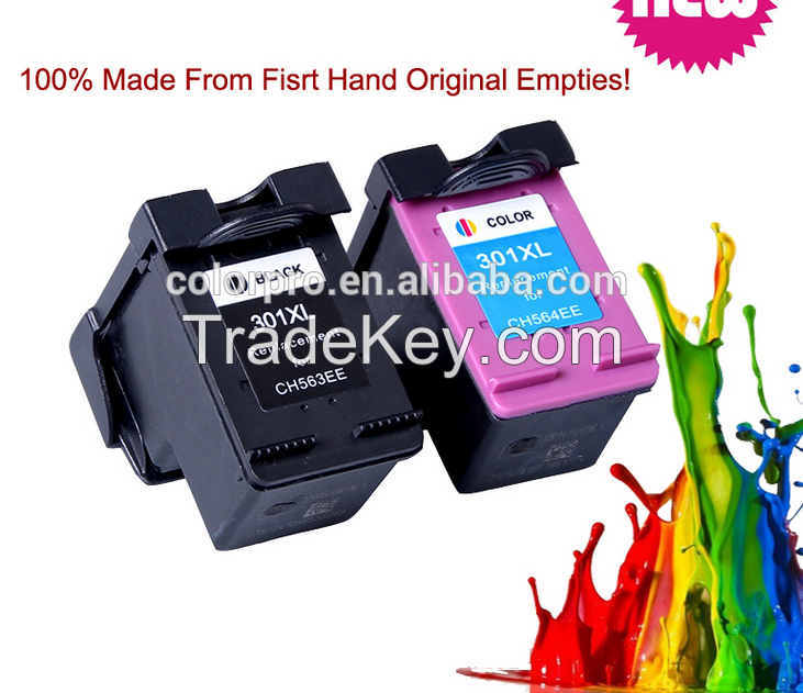 2015 new product reman ink cartridge for hp 301 for HP DeskJet 2050