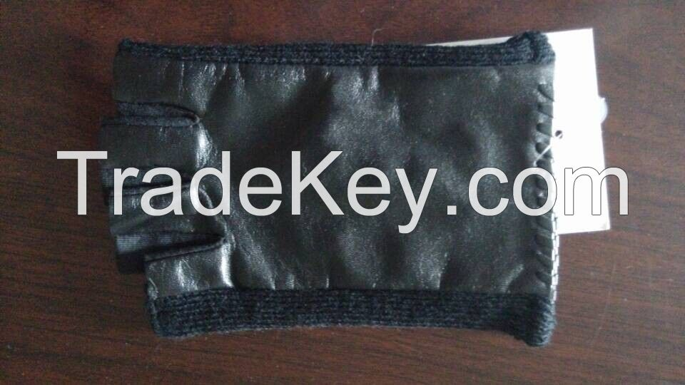 leather glove, leather belt, leather wallet, leather bag