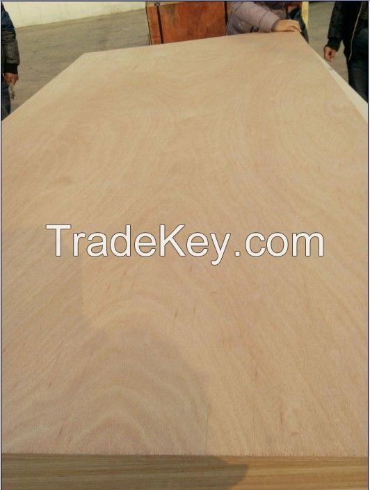 Okoume Veneer Commercial Plywood