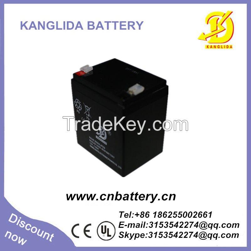 High quality 12v 4ah  deep cycle solar battery