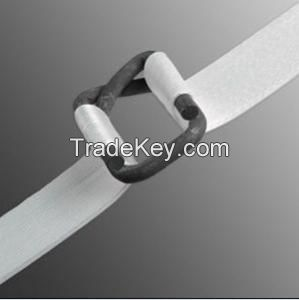 composite polyester strap and woven strap