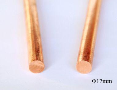 Oxygen-free copper rod