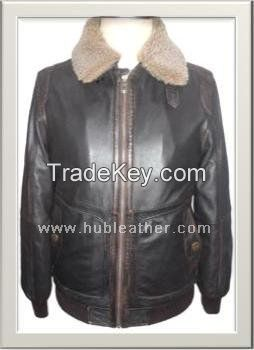 Men's Motorbike Leather Jacket Style M-122181
