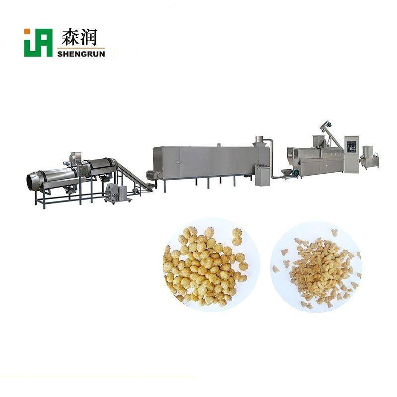 Puffed Pet Food Kibble Production Line Machine
