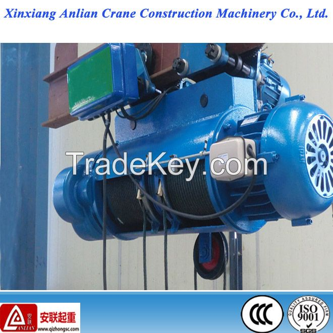 Crane Hoist / construction hoist / CD1 model 1ton electric wire rope hoist