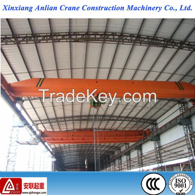 20T electric single girder workshop overhead crane