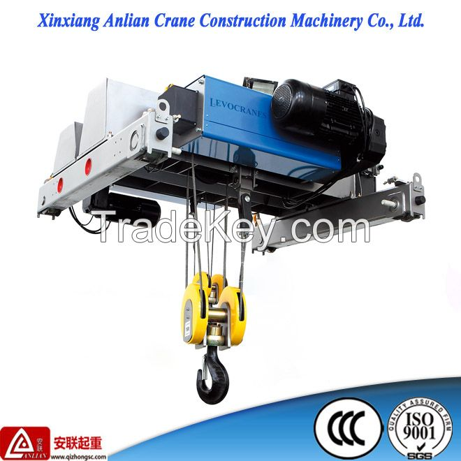Lifting Hoist 10ton European style low headroom wire rope electric hoist